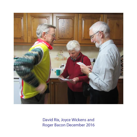 David Rix, Joyce Wickens,Roger Bacon December 2016