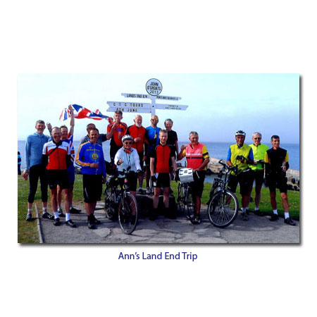 Anns Lands End Trip